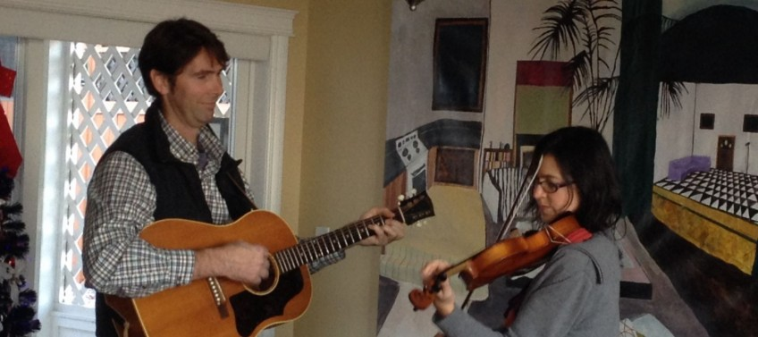St. Paddy's Day with Trish Clair-Peck & partner Jeff on guitar