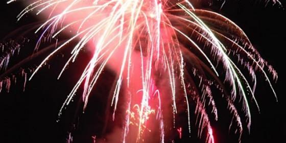 Courtenay's Centennial Fireworks