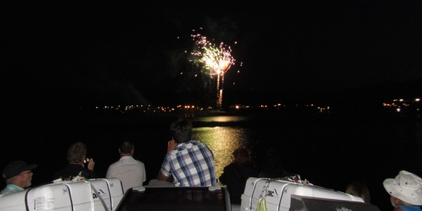 Comox Nautical Days Fireworks
